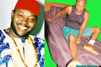Another Nollywood Actor Prince James Uche Is Dying