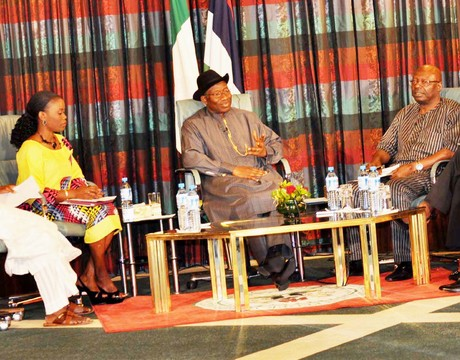 President Jonathan holds Special Edition Of Presidential Media Chat today