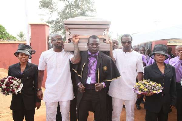 P Square father's Burial