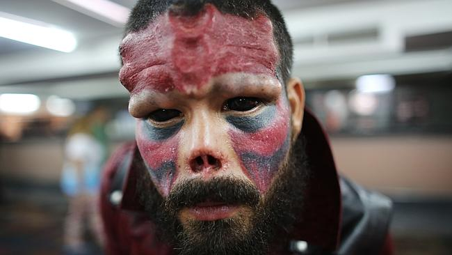 Man chops off nose to look like Marvel villain
