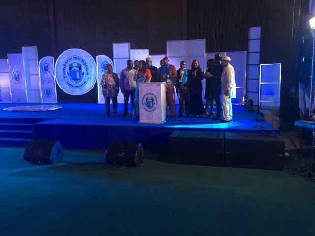 Members of Uniport Alumni Association hosted to a Dinner By President Goodluck Jonathan