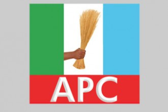 APC members protest in Port Harcourt