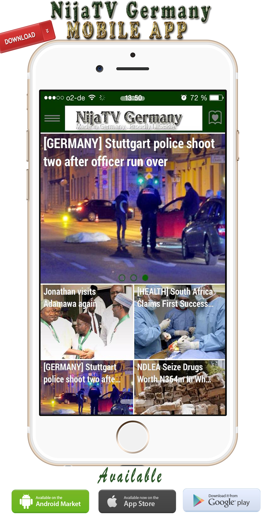 NijaTV Germany launches its Mobile APP