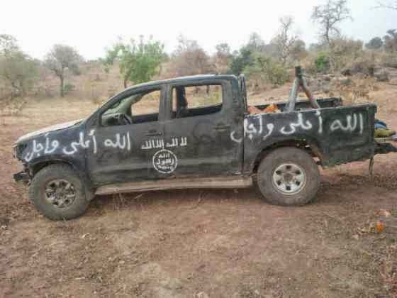 Nigerian Troops captures more territories,more BOKO HARAM Vehicles & weapons on Display