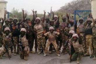 Nigeria Army recaptures Boko Haram 'HQ' Gwoza (PICTURES)