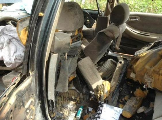 [BREAKING] Bomb blast at Polling Unit in Enugu (photo)