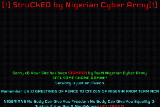INEC Nigeria Official Website HACKED (PICTURES)