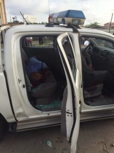 The Lekki-Ikoyi Robbery in Lagos Today (GRAPHIC PICTURES)