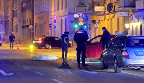 Stuttgart police shoot two after officer run over