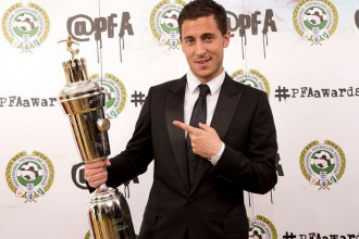 Eden Hazard named Player of the Year after sensational Chelsea season