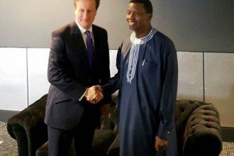 British P.M David Cameron takes campaign to Adeboye's Church RCCG London
