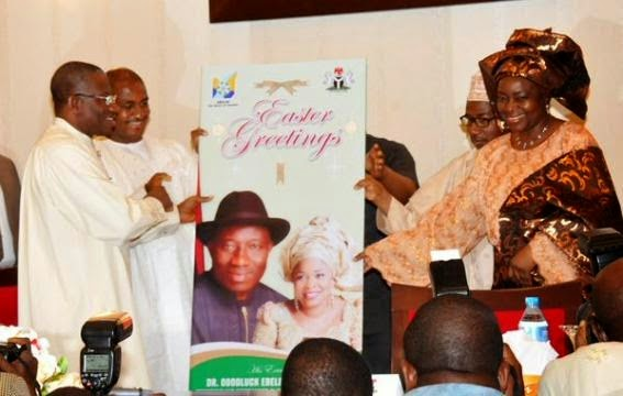 """I am one of the luckiest Nigerians"" - President Goodluck Jonathan"