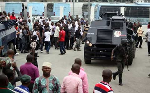 Police Ban Protest In Imo, As Okorocha's Supporters Demand Removal Of REC