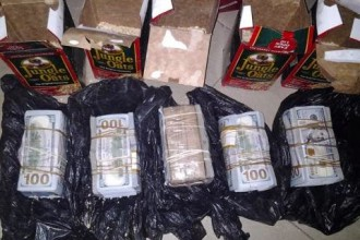 [PHOTO NEWS] South African lady arrested by NDLEA with N74m concealed in oats packs