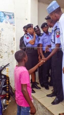 Underage Voter Spotted At Nassarawa State With A Valid PVC + Little Girl Gets Accredited Too