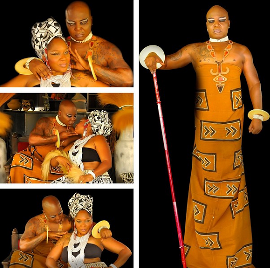[PHOTO NEWS] Charly Boy and wife Lady D release beautiful new photos