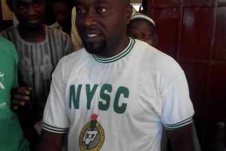 [BREAKING] Imo State Corper converts to Islam,as vowed if Buhari wins and is sworn in (PICTURES)
