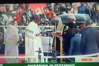 President Buhari sworn in as President of Nigeria