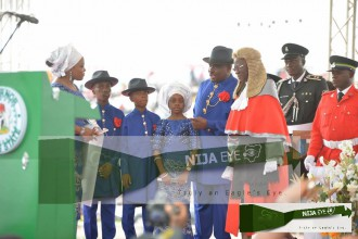 [PHOTO ALBUM] The Swearing in Ceremony of Chief Barr. N.E Wike,Gov.Rivers State