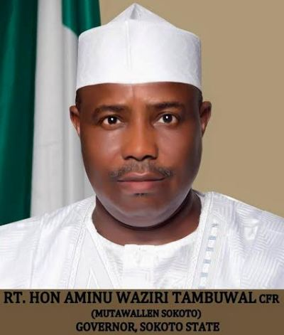 Aminu Tambuwal,Sokoto State governor-elect,releases official portrait