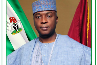 [PHOTO NEWS] Senate President Bukola Saraki releases Official Portrait