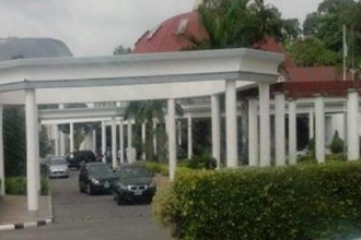 [BREAKING] President Buhari Finally moves into Aso Rock (PHOTOS)