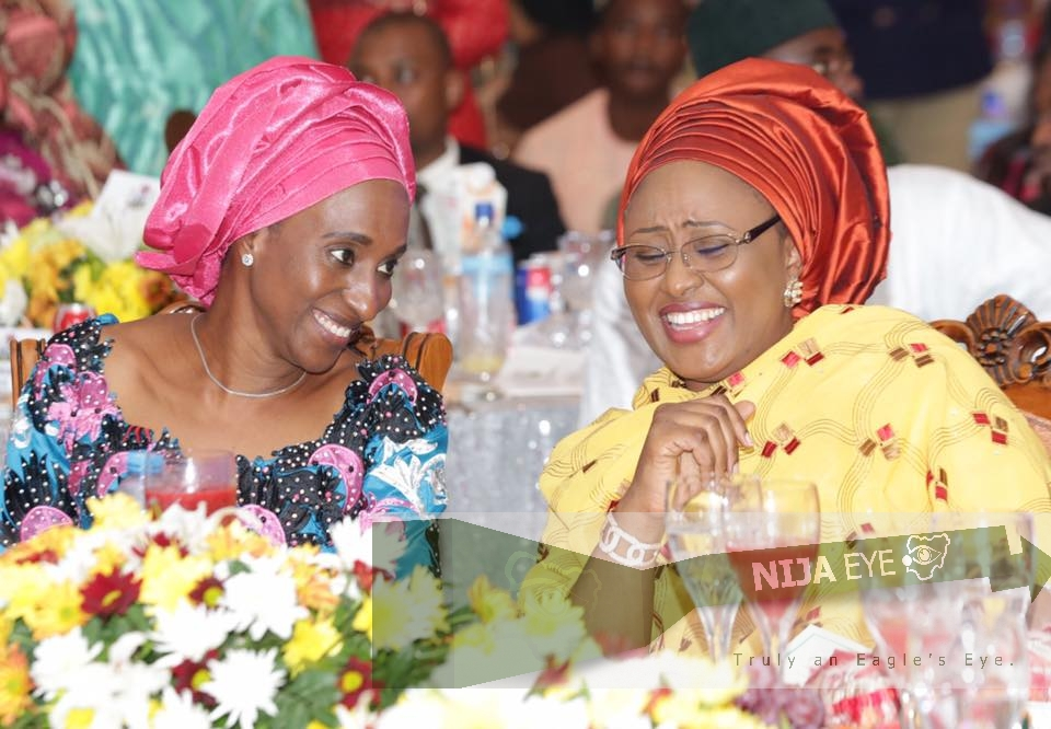 [PHOTO NEWS] 1st Lady & 2nd Lady hosts Women & Youths at the Presidential Villa