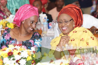 President Buhari's wife Aisha formally moves into Aso Rock