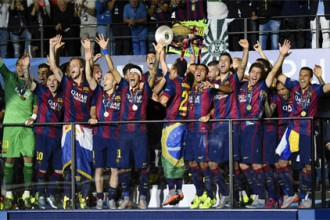 Barcelona wins Champions League for fifth time,2nd Triple