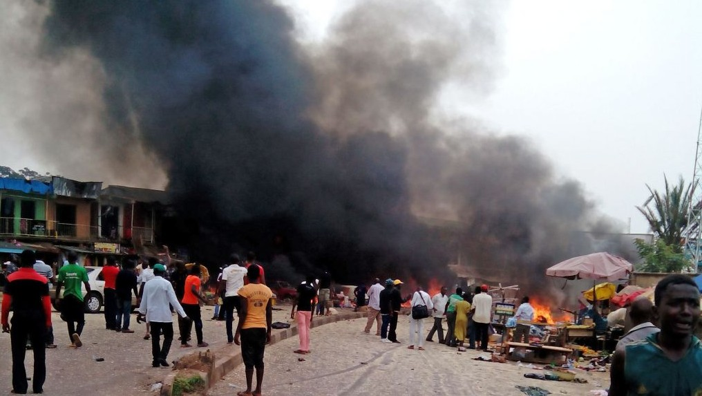 [PHOTO NEWS] Survivors of the Yola Bomb Blast (GRAPHIC PICTURES)
