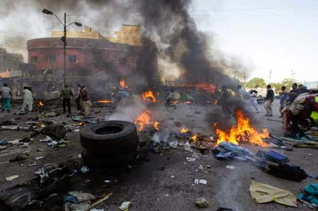 "[BREAKING] Suicide bomber yelled ""Sai Buhari"" before Blowing himself up in Maiduguri – Police"