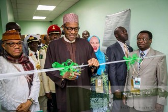 [PHOTO NEWS] President Buhari commissions Nigeria Immigration Center in South Africa