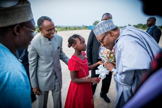 [PHOTO NEWS] President Buhari visits Kaduna State
