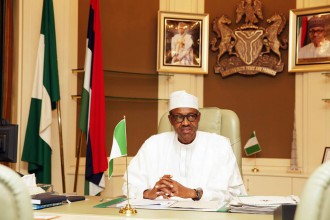 President Buhari's First Day In Office At Aso Rock