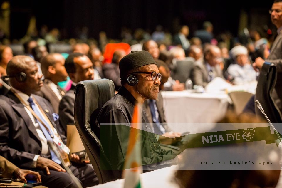 [PHOTO NEWS] President Buhari at the AU Summit in South Africa