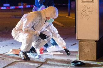 [BREAKING] Nigerian Shot Dead during Robbery of a 63 year old man in Hamburg (VIDEO+PHOTOS)