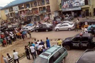 [CRIME]Brutal armed robbers stormed Port Harcourt yesterday (GRAPHICS PHOTOS)
