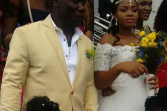 [PHOTO NEWS]Duncan Mighty Weds Longtime Girlfriend