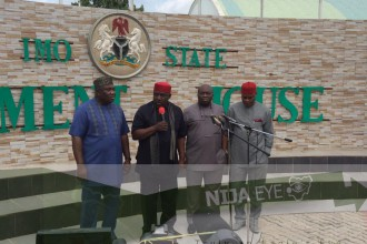 [SOUTH EAST POLITICS] South East Governors meets in Owerri,Imo State (PHOTO NEWS)