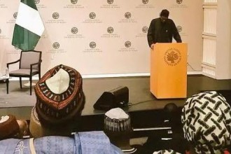 [VIDEO] President Buhari's speech at the United States Institute of Peace (USIP)