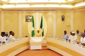 President Buhari meets Gbajabiamila, other APC House of Reps members