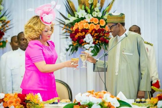 [PHOTO NEWS] State Dinner in honour of Buhari in Cameroon