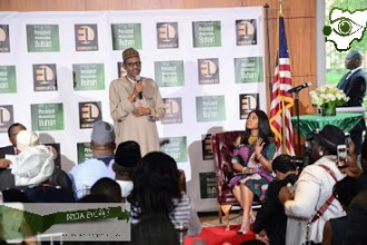 Buhari misfires AGAIN,during the meeting with Nigerian Youths in Diaspora