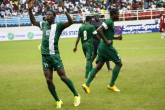 [PHOTO NEWS] Nigerian Flying Eagles beat Congo 2-1