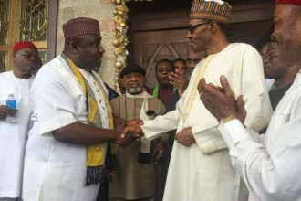 Governor Okorocha begs Buhari to consider South-East in his appointments