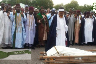 [PHOTO NEWS] Borno State Deputy Governor Zanah Mustapha Burial