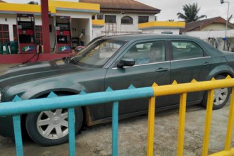 [PHOTO NEWS] Man assasinated at a Fuel Station in Port Harcourt