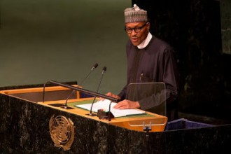[PHOTOS & TRANSCRIPT] President Buhari delivers Speech at the UN General Assembly