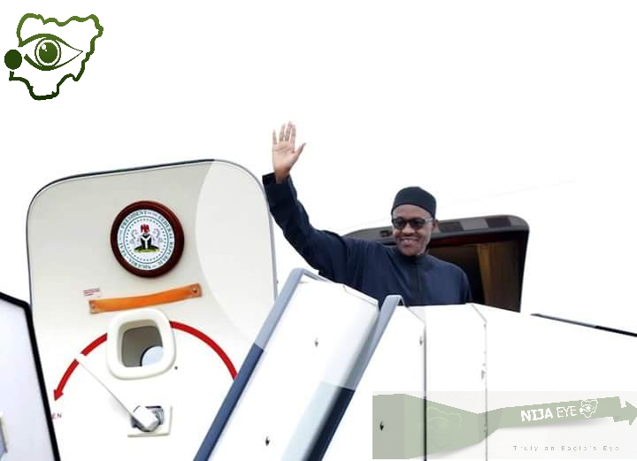 [PHOTO NEWS] President Buhari Departs for France,Gov of Zamfara,Jigawa & Ogun among