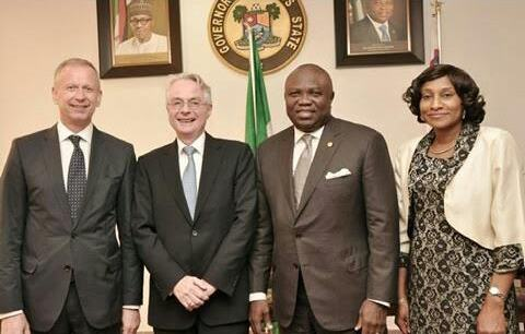 German Ambassador to Nigeria pays a courtesy visit to Lagos Gov. Ambode